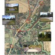 NYS Route 50 corridor redesign to address pedestrian routing, vehicular flow and gateway embellishment, Saratoga Springs, NY
